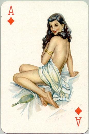 Карты с голыми тетками