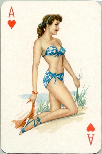 игральные карты с девушками голыми